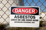 Image of Asbestos Hazard Sign
